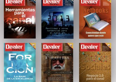 Ilustraciones de portada | Revista DealerWorld