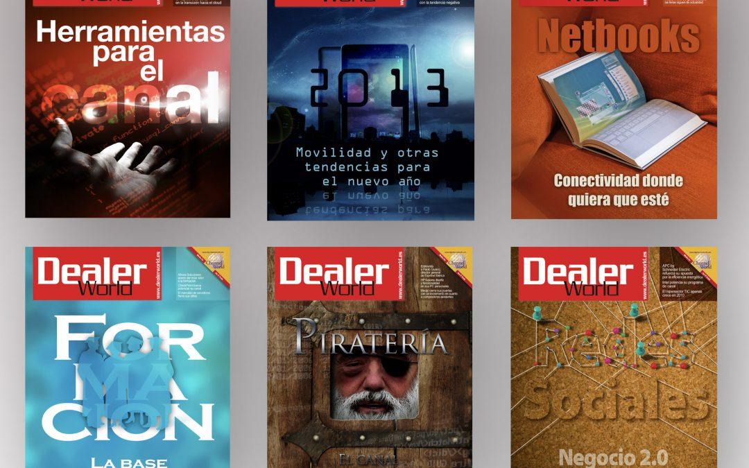 Ilustraciones de portada   Revista DealerWorld