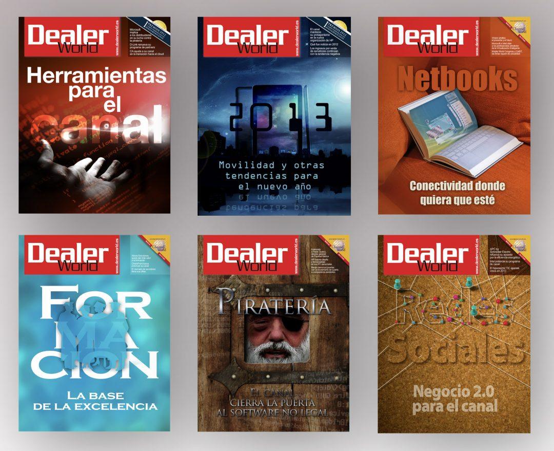 Ilustraciones de portada | Revista DealerWorld