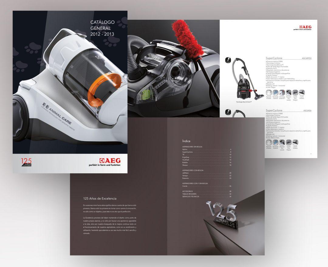 Maquetación | Catálogo AEG