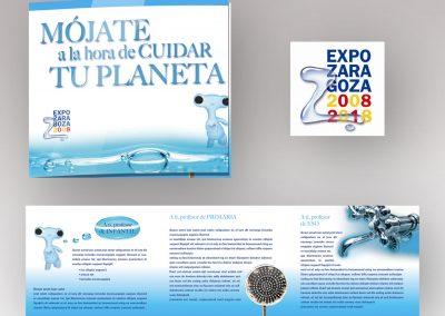 Tríptico | Expo Zaragoza 2008